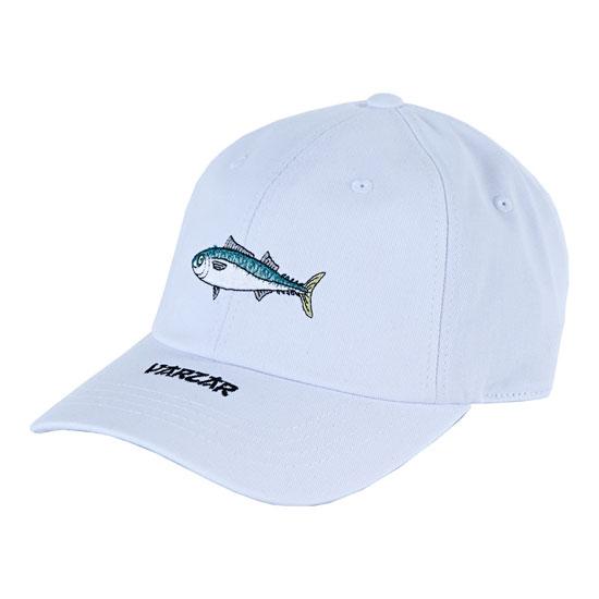 Varzar varzar fish series 06 ball cap white for White cap fish