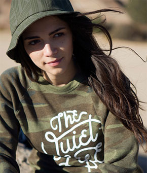THE QUIET LIFE - Inspired by BMX, skateboarding, music and magazines.