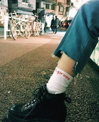 Cotton Blend Hanes Cushion Comfort Crew Sock View More Supreme